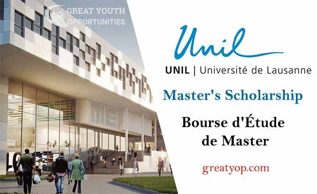 University of Lausanne Master's Scholarship for Foreign ...
