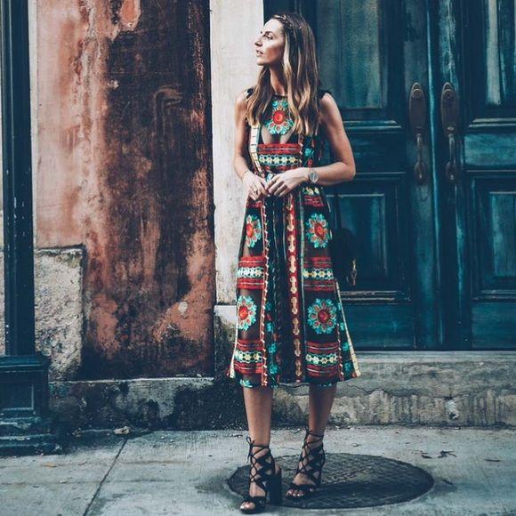 52b8404ce057 Eva Franco Dresses & Skirts - Anthropologie Eva Franco Saskia Embroidered  Dress