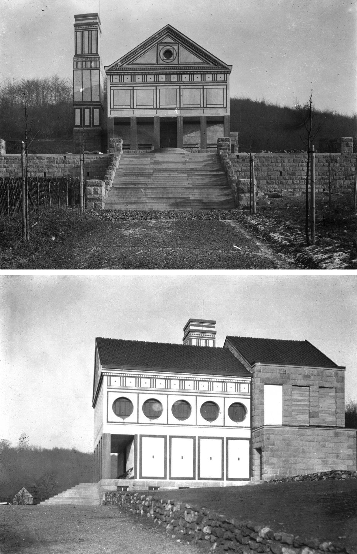 Peter behrens 1906 1907 1 pinterest architecture for Behrens house