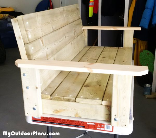 Diy 2x4 Swing Myoutdoorplans Free Woodworking Plans And Projects Diy Shed Wooden Playhouse Perg Woodworking Plans Free Diy Porch Swing Woodworking Plans