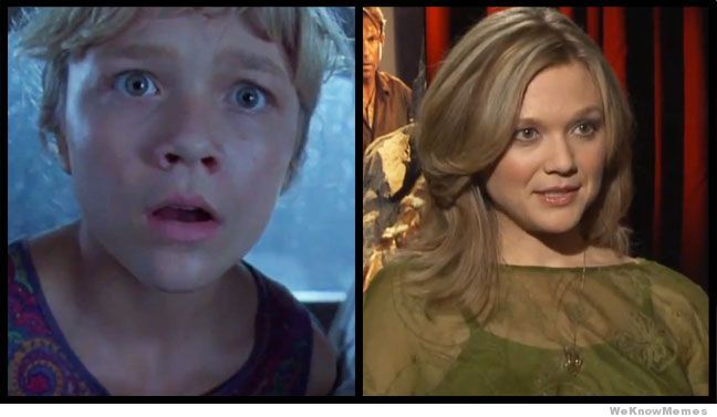Jurassic Park Cast Then And Now | WeKnowMemes | Jurassic ...