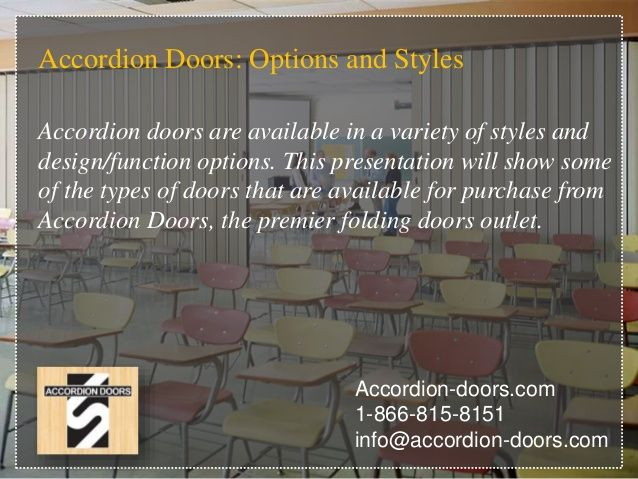 Accordion Doors Options And Styles Accordion Doors Are Available In