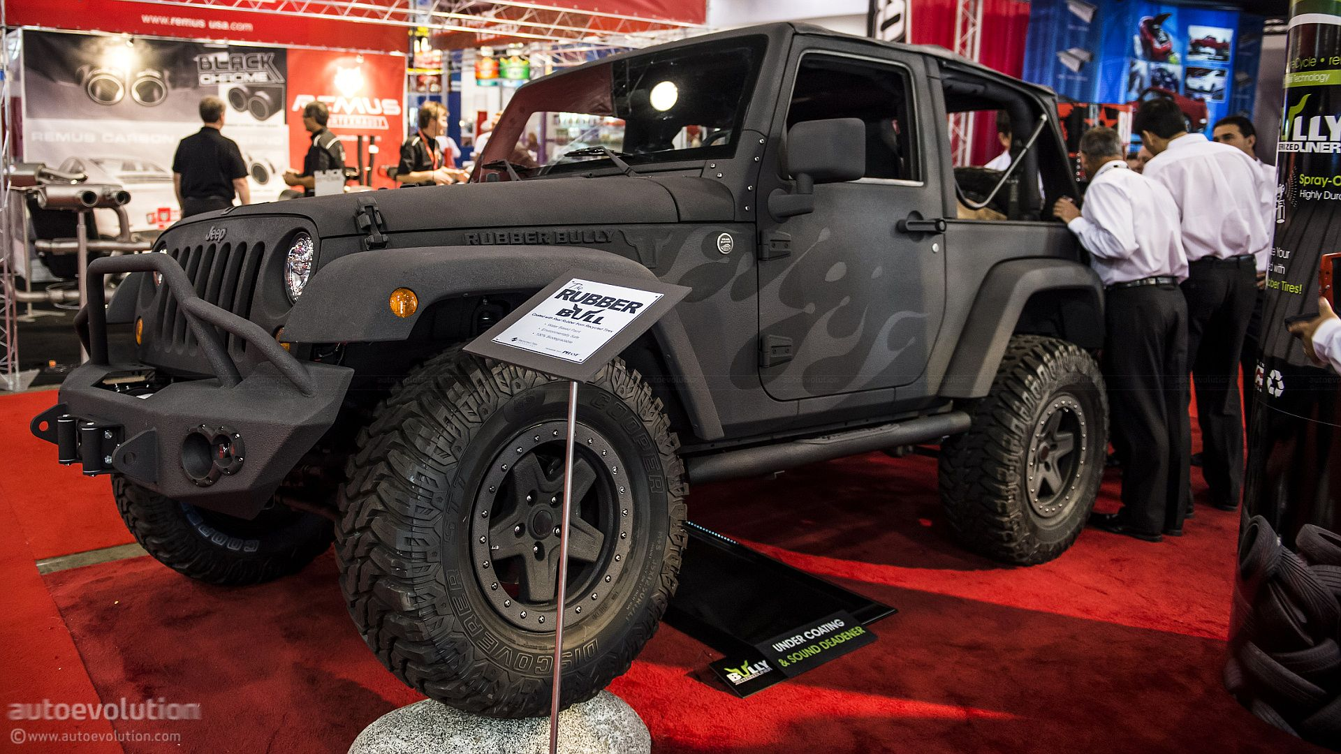 rubber bully jeep wrangler this is one of my favorite jeeps from sema