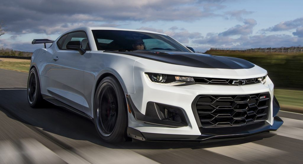 2019 Chevrolet Camaro Zl1 1le Breaks Cover With Old Face But 10sp