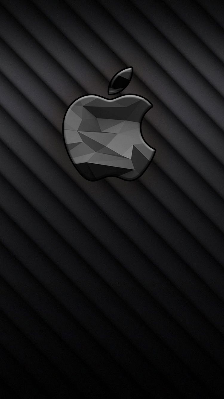Iphone7wallpaper Black3dapple Jpg 750 1 334 Pixeles Wallpaper Apel Wallpaper Iphone Wallpaper Android