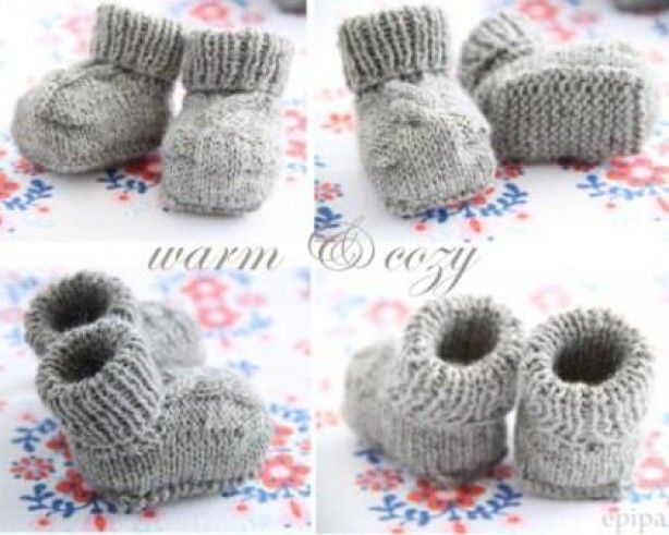 patroon+voor+babyslofjes | dollshoes | Pinterest