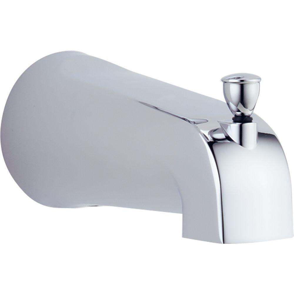 Delta Foundations 5 3 8 In Metal Pull Up Diverter Tub Spout In