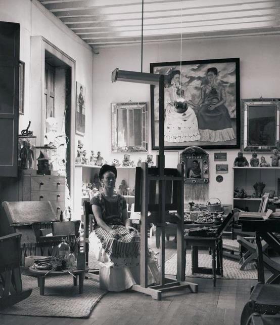 Frida Kalo studio