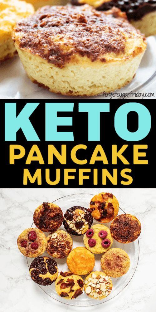 Keto Pancake Muffins + Toppings!