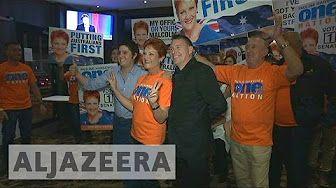 Australian politics shaken up by nationalists