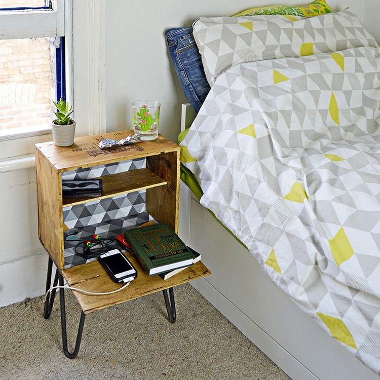 tisch aus weinkisten bauen 12 praktische diy ideen und bauanleitungen m bel in 2019. Black Bedroom Furniture Sets. Home Design Ideas