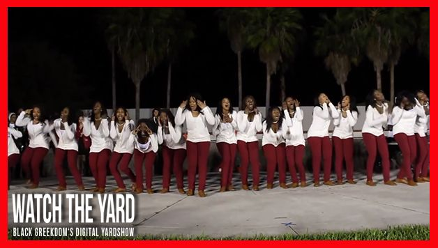 The Deltas At Florida Atlantic University GO HARD! Watch This Probate!