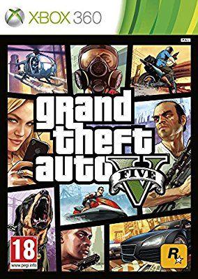 Grand Theft Auto V XBOX 360. Description : Los Santos: une métropole tentaculaire avec ses gourous, ses starlettes et ses gloires du passé fanées qui faisaient jadis rêver le monde entier et qui, aujourd'hui, luttent pour ne pas sombrer dans l'oubli alors que le pays est rongé par la crise.