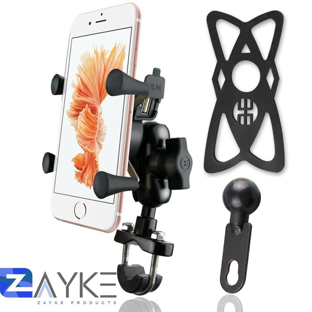 Top 12 Best Bike Mobile Holder With Charger In India Reviewed