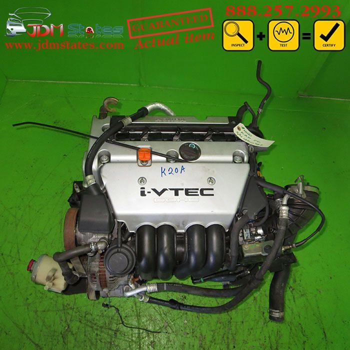 JDM Honda Acura RSX DC5 K20A 2.0L DOHC I-VTEC Engine Honda