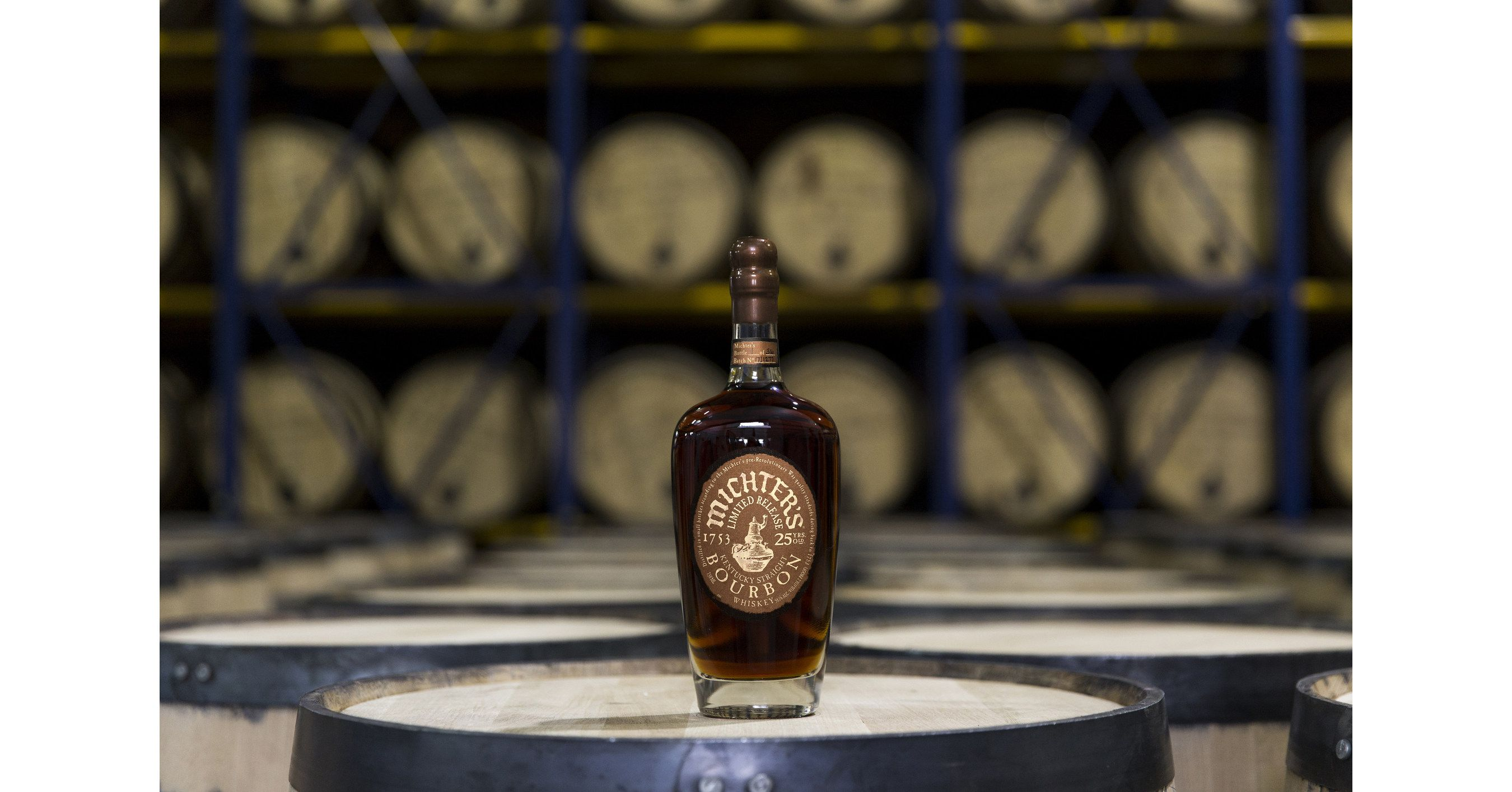 Michters announces first bottling of 25 year bourbon