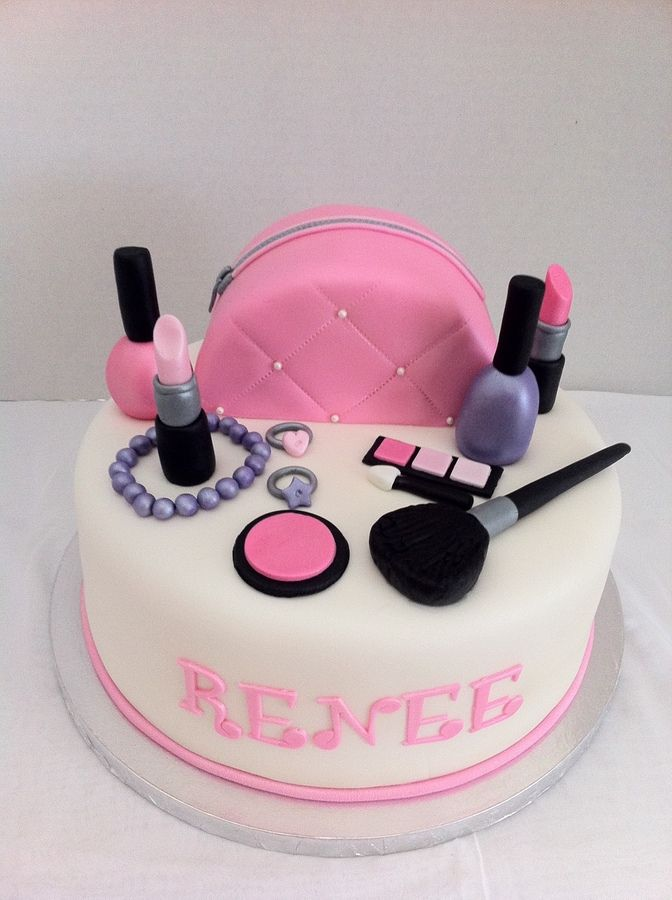 Makeup U2014 Childrenu0026#39;s Birthday Cakes | Cakes- Ladyu0026#39;s | Pinterest | Birthday Cakes Makeup And ...