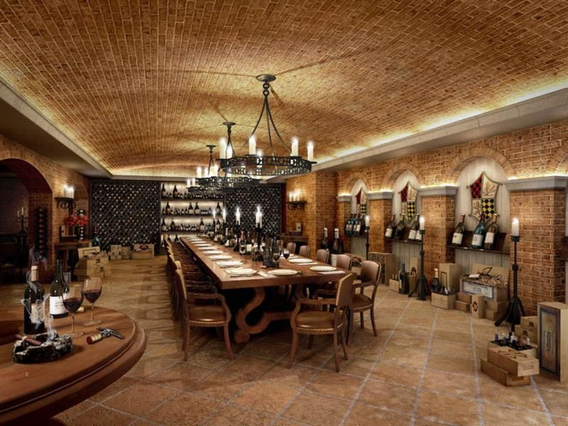 Underground Wine Cellar Design Ideas Wine in the Home Pinterest