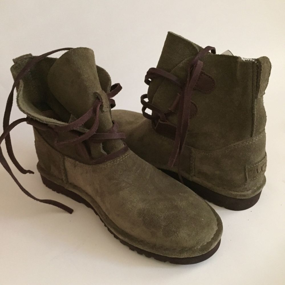 Boots, Olive green boots, Womens uggs