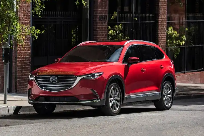 2019 Mazda Cx 9 Touring 4dr Suv Awd 2 5l 4cyl Turbo 6a Msrp 37 130 Mpg 20 City 26 Hwy Seating 7 Transmission 6 Speed Shiftable Automatic Horsepower 227 Hp