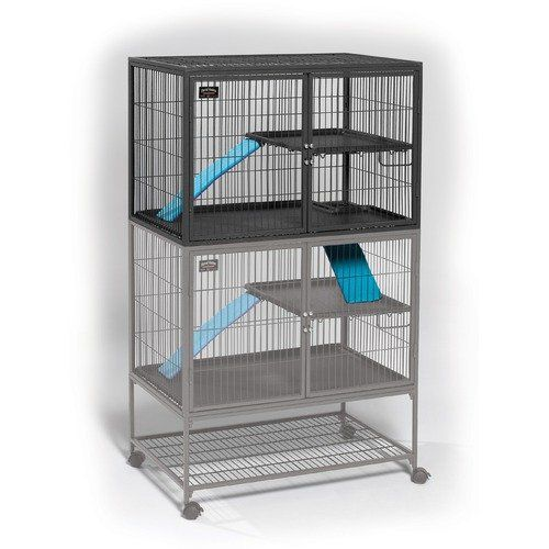Midwest Deluxe Ferret Nation Add On Unit Ferret Cage Walmart Com Ferret Cage Ferret Nation Cage Chinchilla Cage