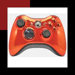 personally customized official microsoft xbox 360 wireless