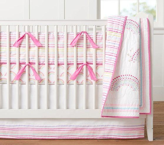 Rainbow Nursery Bedding