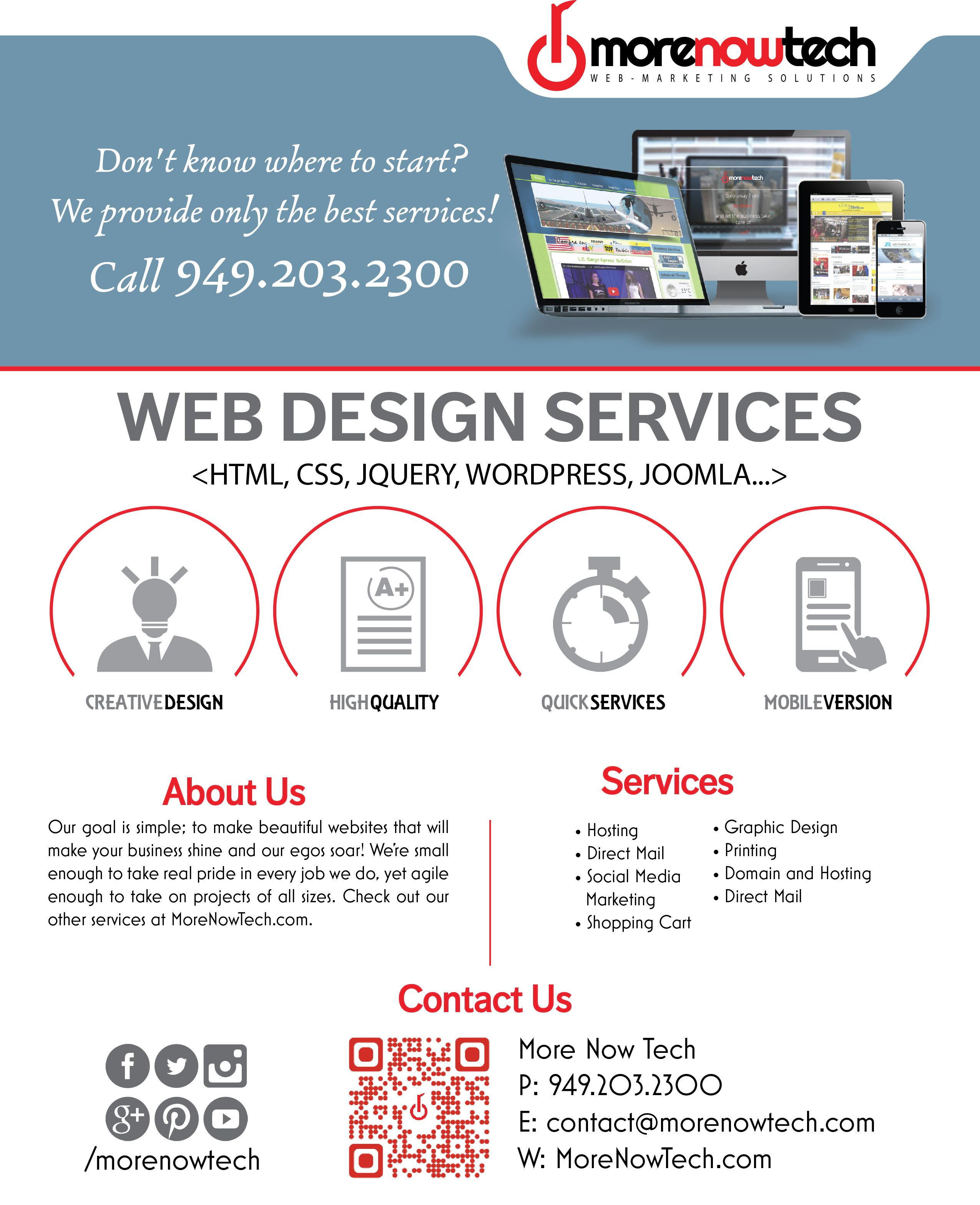 web design flyer - Google Search | web design flyer | Pinterest