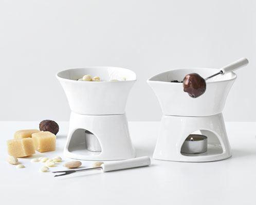 Fabriksnye Med det smarte chokolade fondue sæt fra Blomsterberg, er det nemt JZ-08