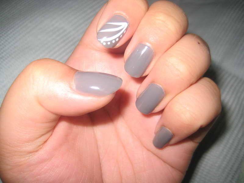 gray nail designs - Google Search | Nail Art | Pinterest | Beginner ...