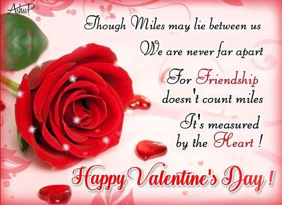 Happy Valentine/'s Day Very Special Friend Friendship Hallmark Greeting Card