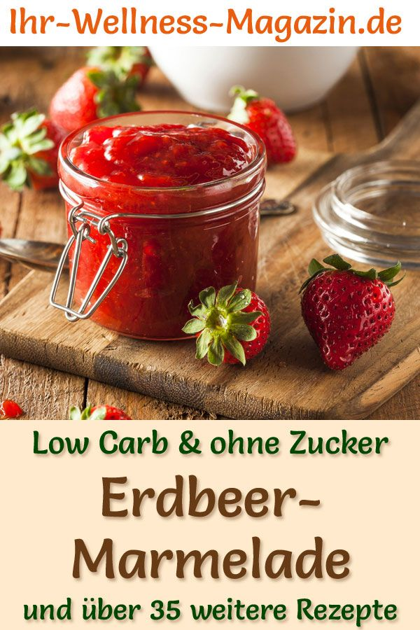 Photo of Low carb strawberry jam – fruit spread recipe without sugar