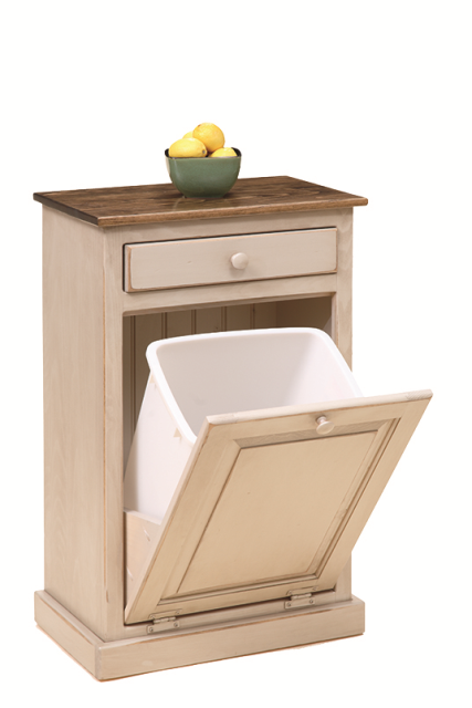 Trash Bin idea | Wood laundry hamper, Laundry hamper ...
