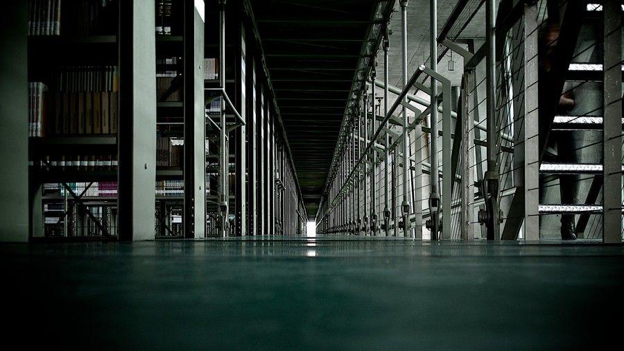 The Corridor Library Vasconcelos by Juan C. García on 500px