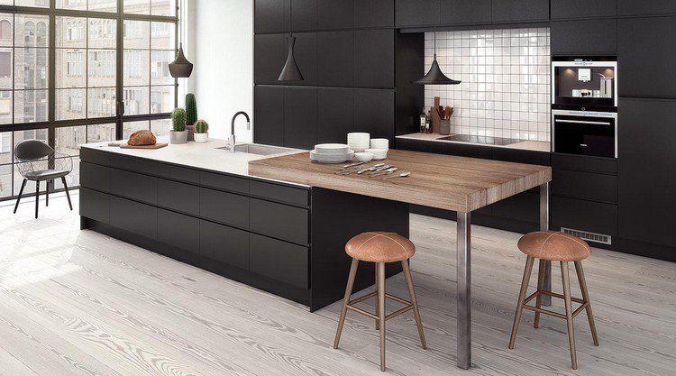 Cuisine Noire 28 Idées De Design Contemporain Formidable