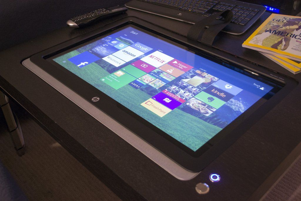 Diy Touchscreen Coffee Table Imgur Ideas That Look Cool Pinterest Electronics Projects