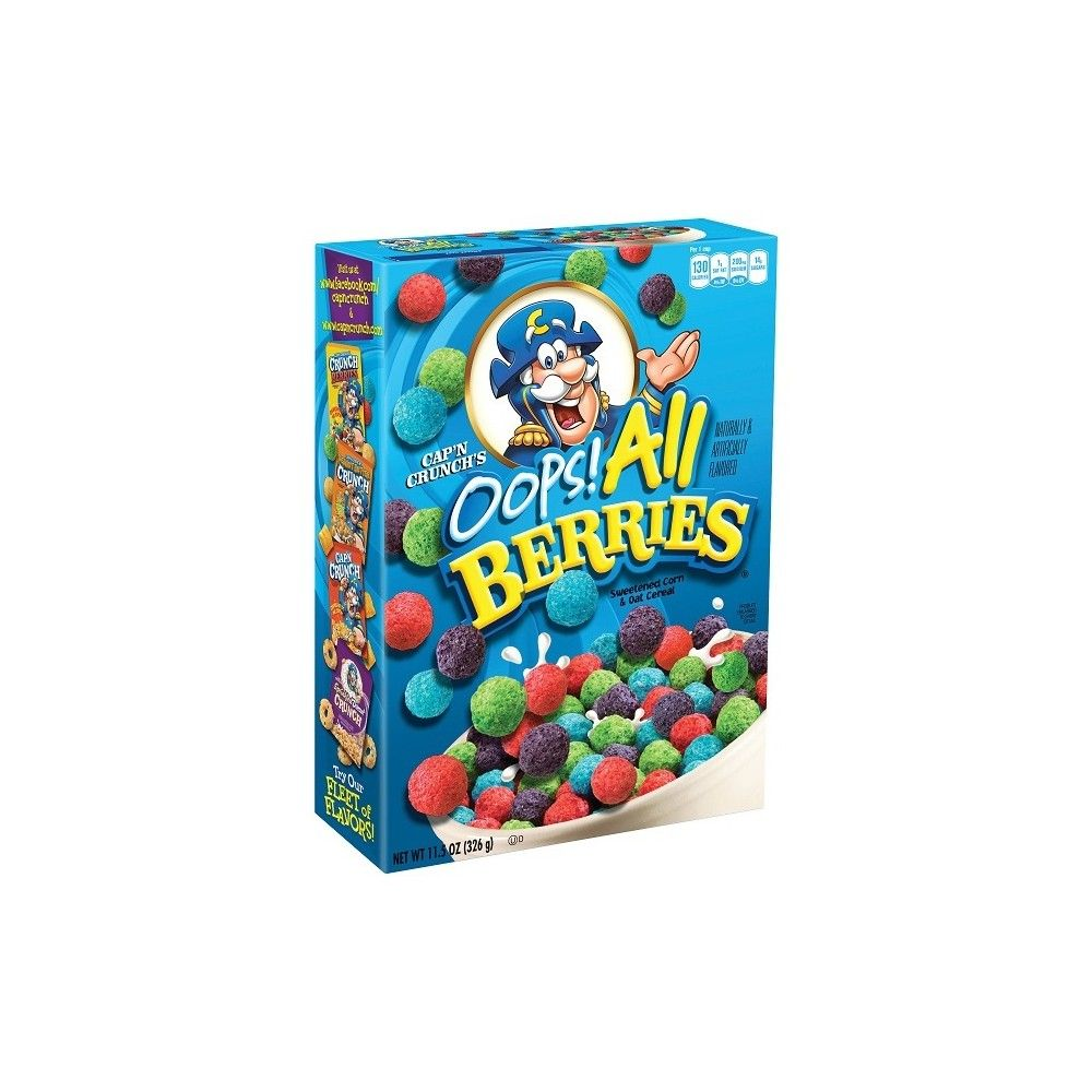 Cap N Crunch Oops All Berries Breakfast Cereal 11 5oz All Berries Crunch Berries Capn Crunch Cereal Berries and balsamic are a great pairing, a fact made evident by this dreamy tomato soup. cap n crunch oops all berries breakfast