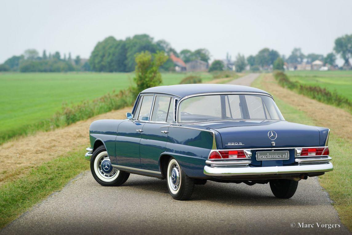 Mercedes-Benz 220 S, 1964 - Welcome to ClassiCarGarage   Mercedes ...