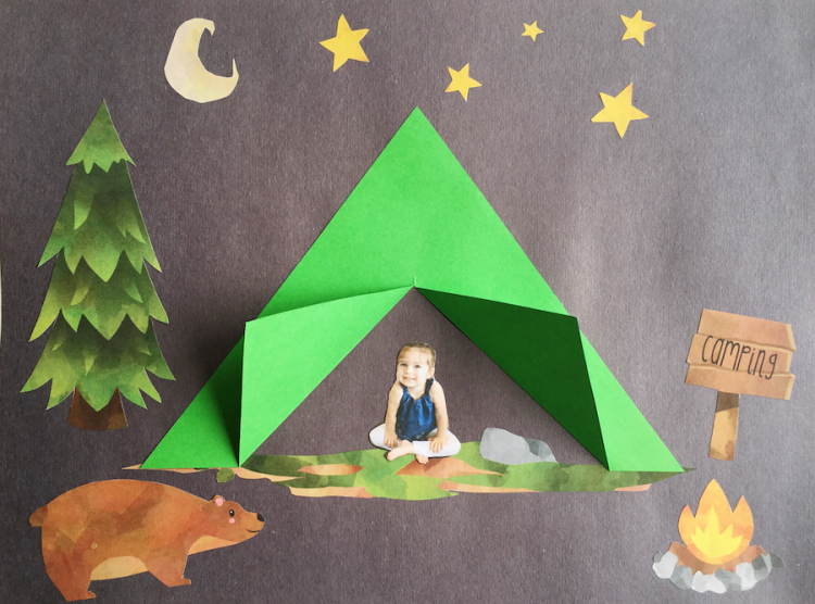 Gone Camping Craft Simply Learning