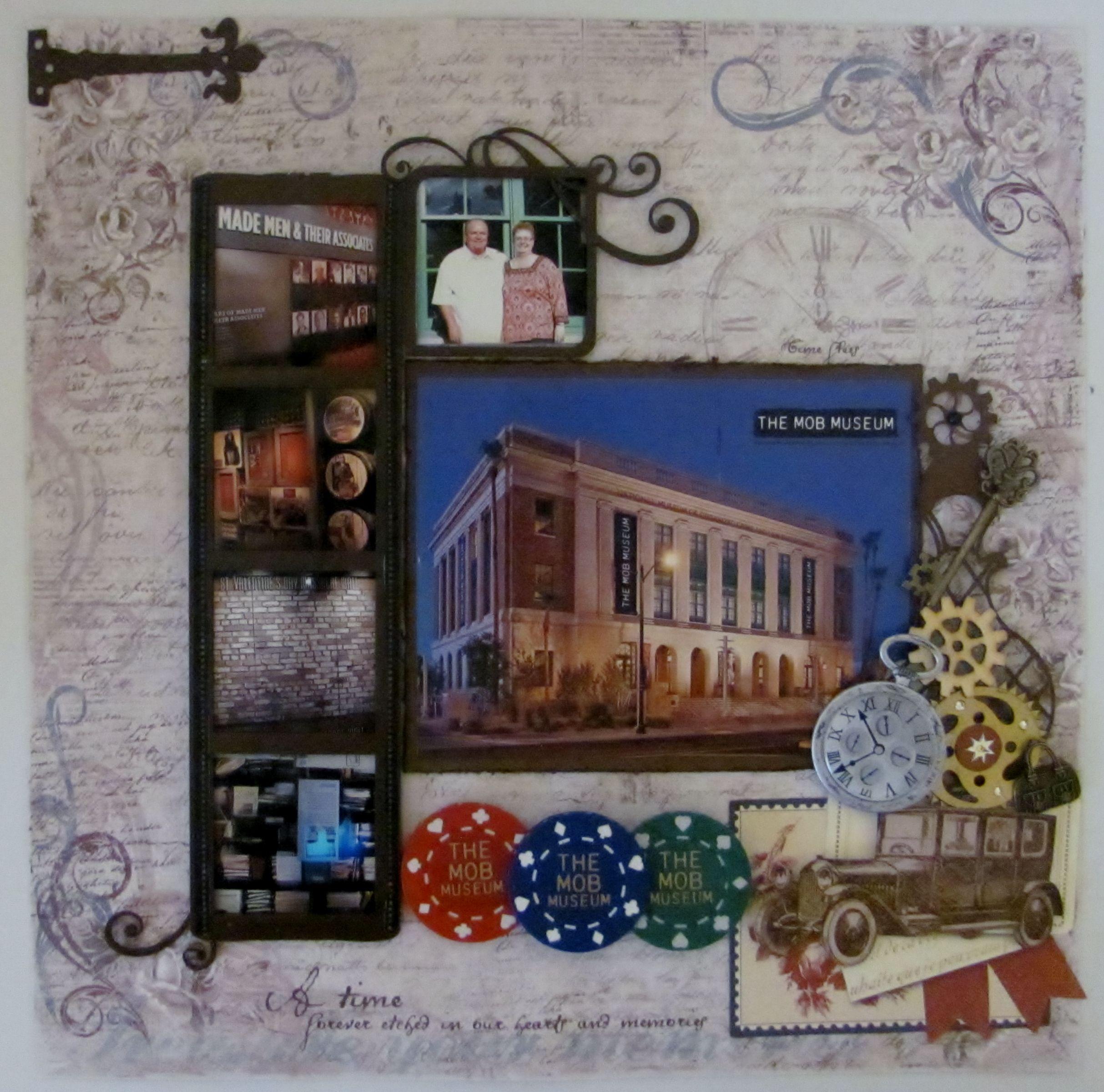 Future Floors Las Vegas: Las Vegas - Mob Museum - Scrapbook.com