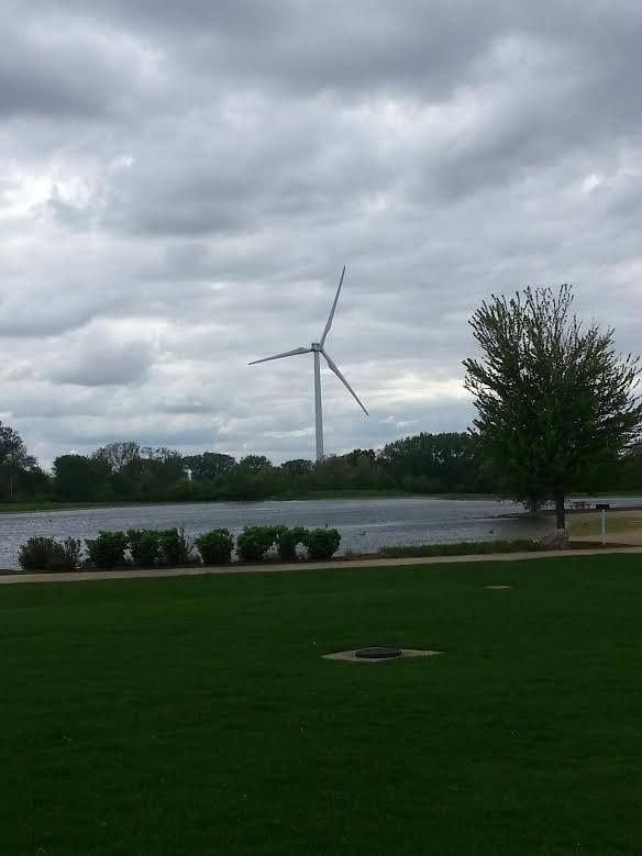 Green Wind Mills At Kirkwood College In Cedar Rapids Ia Outdoors Adventure Outdoor Adventure