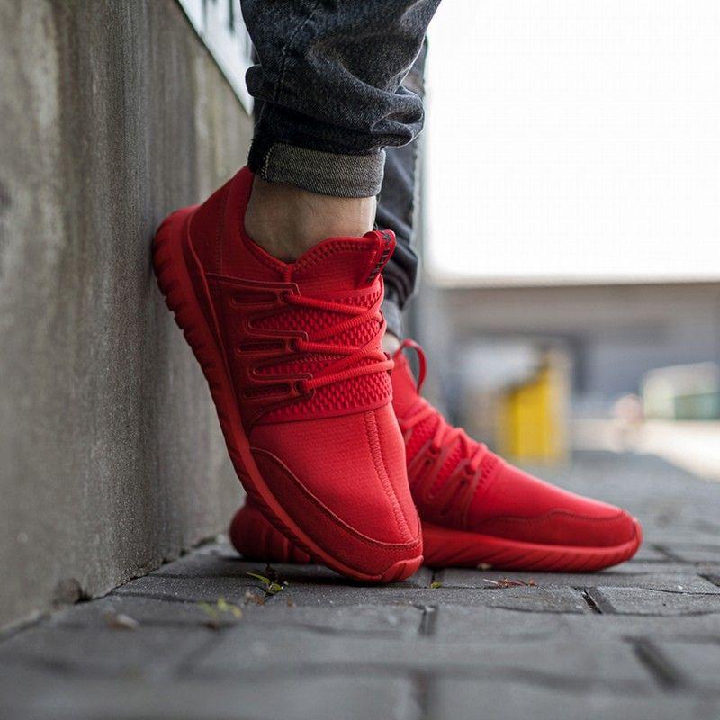 ADIDAS TUBULAR RADIAL kolor CZERWONY od 349,99 PLN! Kultowe Sneakersy |  Męskie Buty w ✪ Sklep Sizeer ✪