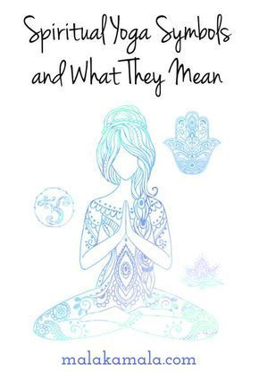 Spiritual Yoga Symbols And What They Mean Pinterest Hamsa Hand