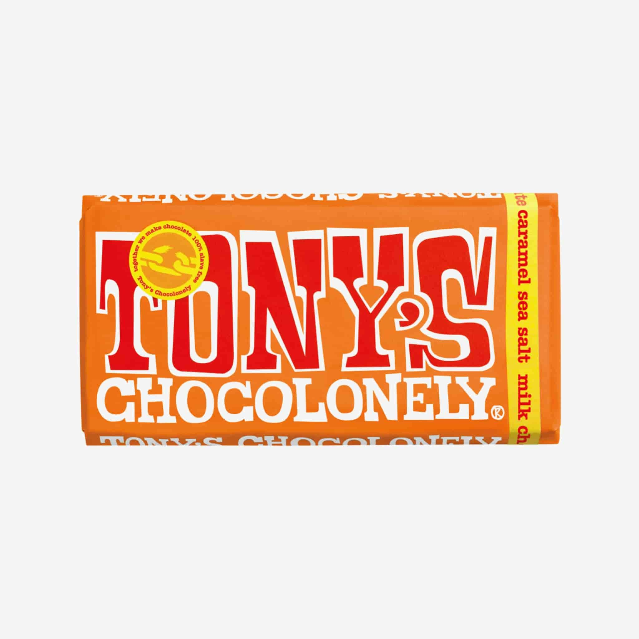 Tony's Chocolonely | Milk Caramel Sea Salt Chocolate - 180g