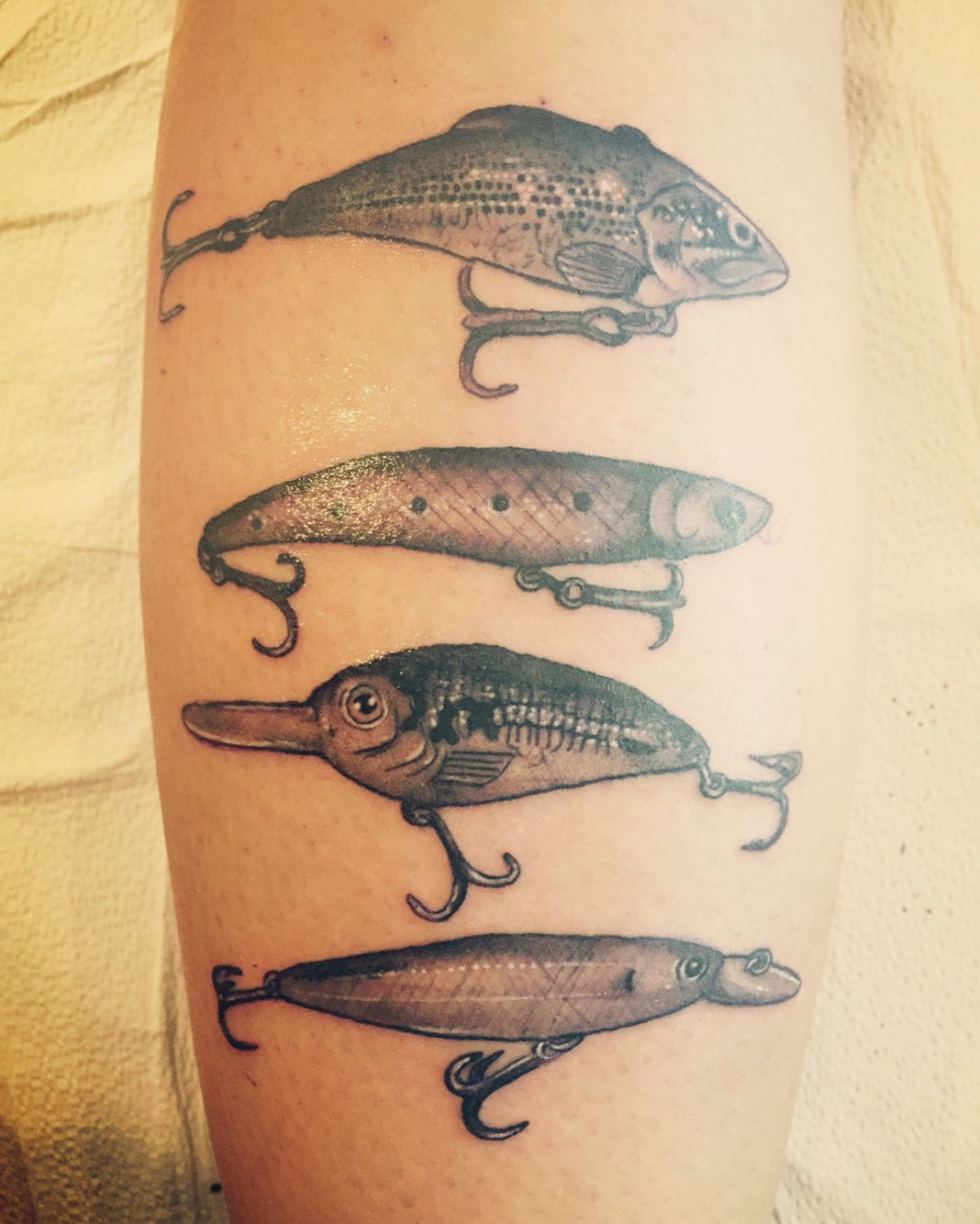 c33c9f10e4290 Fishing lure tattoo #fishing #lures | Tattoos & piercings | Fishing ...
