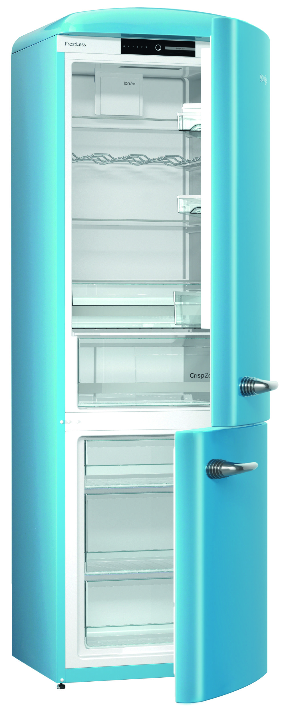 Gorenje Retro ORK193B-L Fridge Freezer - Baby Blue | Retro ...