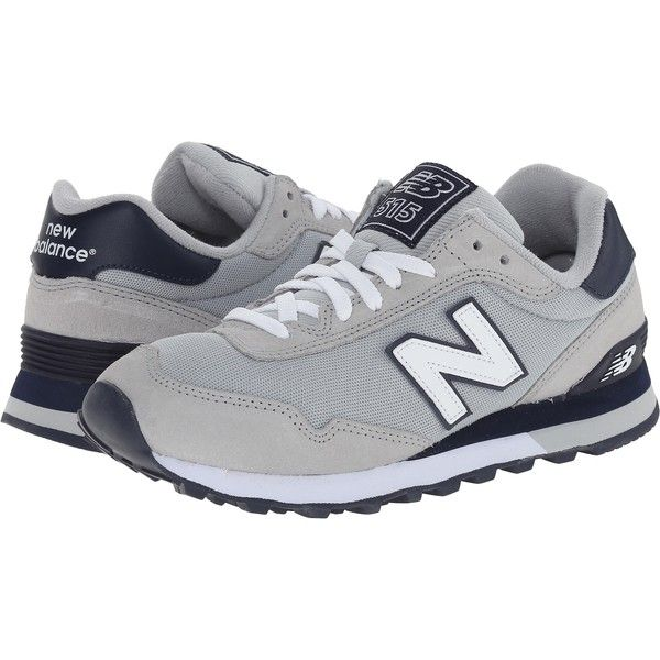 New Balance Classics 515 - Polo (Grey) Women's Shoes ($35) ❤ liked
