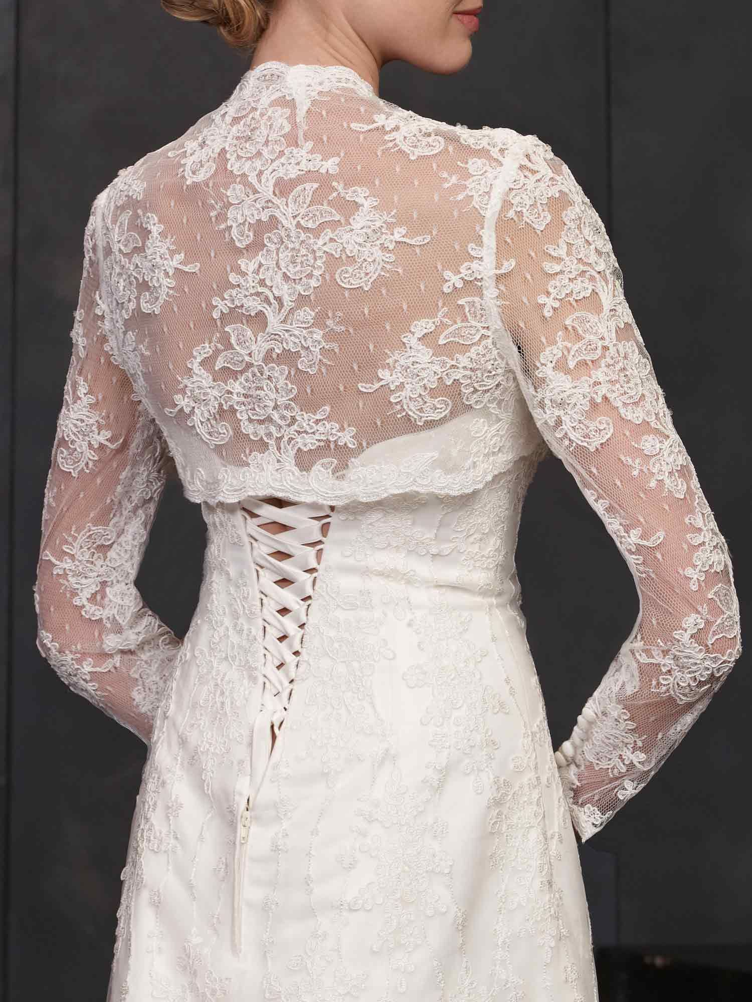 Beaded accents veils and jackets jb wedding dresses