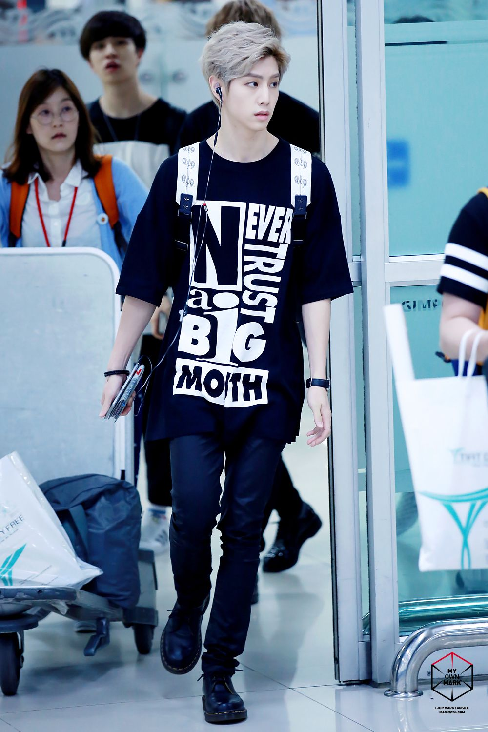 Mark Tuan Airport Fashion - Year of Clean Water