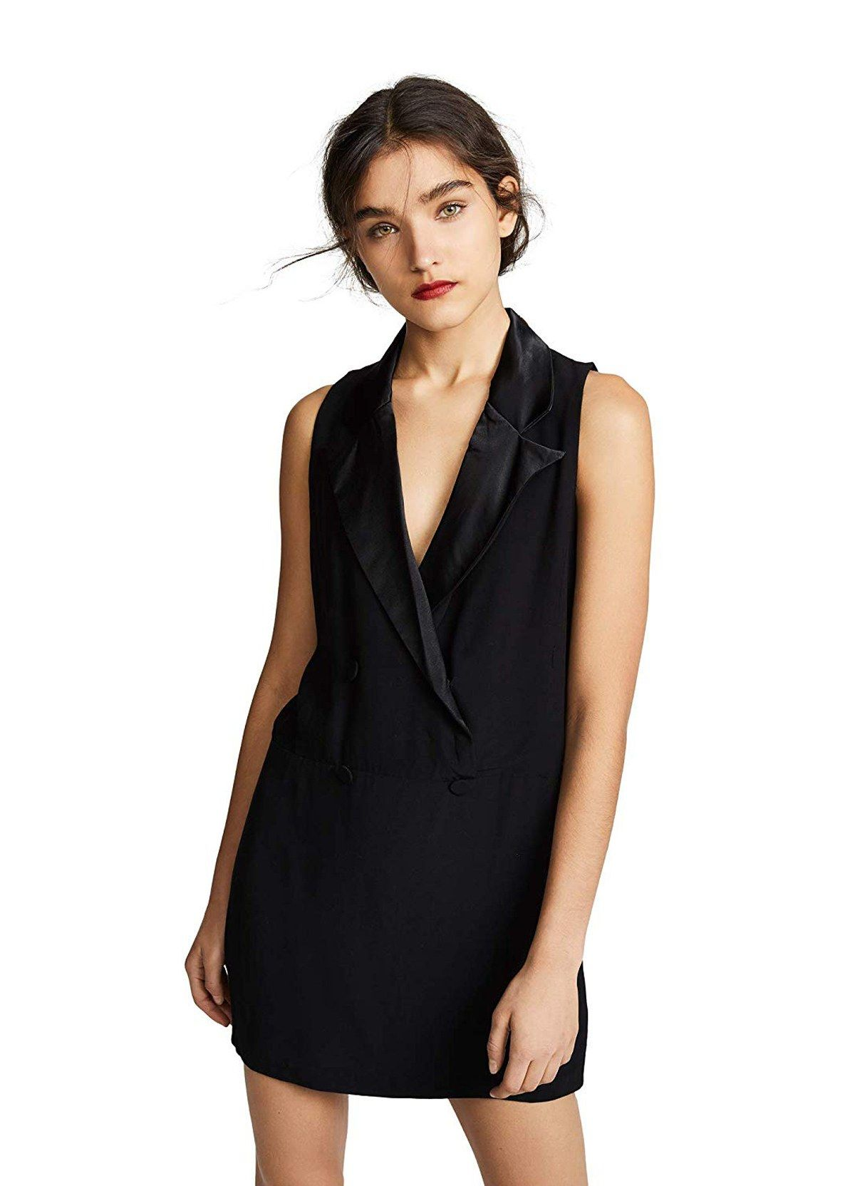 b3e26d2f06a The Meghan Markle Guide to Tuxedo Dresses | Polyvore | Tuxedo dress ...